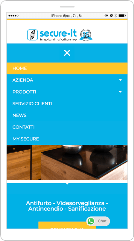 RESTYLING SITO WEB - Secure-it 5