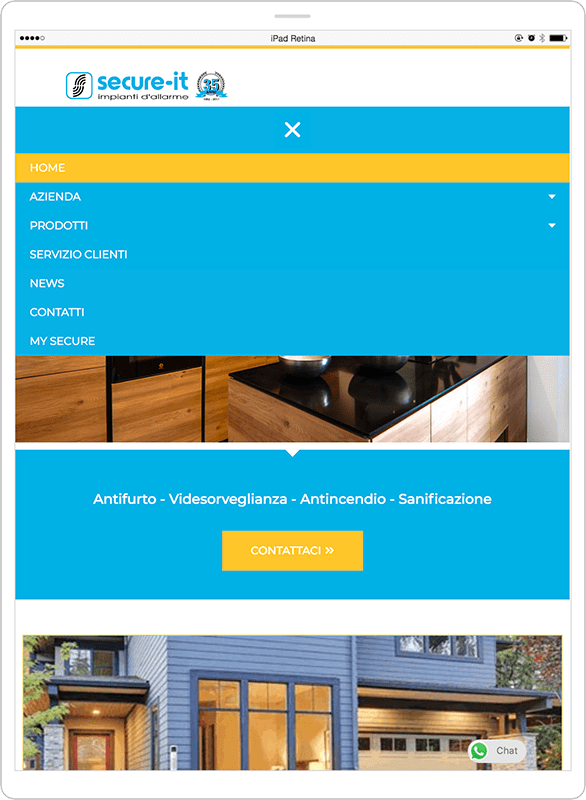 RESTYLING SITO WEB - Secure-it 3